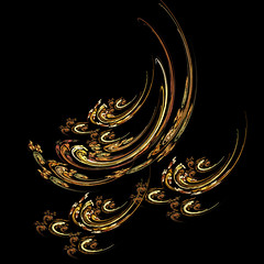 Yellow  pattern (Olga NZ) Tags: abstract design digitalart flame creation fractal apophysis visualart