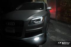 Audi Q7 (ONEightyNYC) Tags: nyc newyorkcity bronze brooklyn gold nissan vinyl ironman headlights led bmw hr m3 audi rims m6 m5 g35 avery 350z m4 matte exhaust apr 1m kw infiniti brembo 535 coilovers 550 bimmer nismo customcars customrims 335 q7 audiq7 customshop oneeighty oneighty g37 customwork 370z libertywalk loweringsprings grancoupe mattepaint ledheadlights mattemetallic customheadlights customcarshop mattecharcoal 180custom matteaudi 180customs oneightynyc ironmanheadlights ironmanled vinylwrappedcars