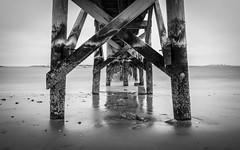 Fisherman's Beach Pier, Swampscott Massachusetts (Kyle Maley Photography) Tags: ocean longexposure sea seascape water boston landscape ma pier nikon piers massachusetts filter northshore nd slowshutter swampscott hoya nd400 oceanscape blinkagain lazyshutter