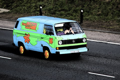 The Mystery Machine inked (kenjonbro) Tags: uk blue england stone vw canon volkswagen kent sunday scoobydoo petrol van 1990 transporter themysterymachine dartfordtunnel a282 thebrent dartfordrivercrossing kenjonbro 1915cc canonextender14 canoneos5dmkiii canonef70200mm128l1siiusm g238tpn