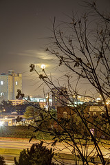 Full Moon (Jim-Mooney) Tags: light moon architecture long exposure cityscape low full hdr afterdark