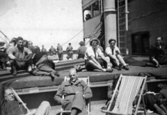 Image titled Onboard RMS Samaria Homeward Bound 1940s...