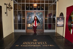 At the Roosevelt Hotel.