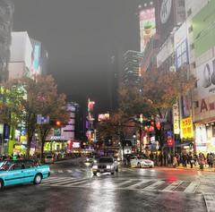 Fog over Shibuya (nikkorglass) Tags: japan night tokyo neon crossing shibuya nippon nik f28 2470 2013 d700