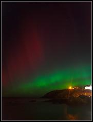 Aurora, Portpatrick (ShinyPhotoScotland) Tags: longexposure colour night stars scotland unitedkingdom harbour places astrophotography aurora astronomy portpatrick auroraborealis atmosphericoptics phenomena atop dumfriesandgalloway gbr darktable