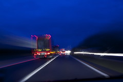 On the road (davidolds_uk) Tags: road movement slowshutter trunk