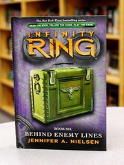 Behind Enemy Lines (Vernon Barford School Library) Tags: world new travel school fiction friends 2 two history reading book high friend war friendship time jennifer infinity library libraries reads books science best ring read paperback 2nd worldwarii cover ii conspiracy junior second historical novel covers sciencefiction timetravel bookcover middle bestfriend vernon recent worldwar bookcovers bestfriends paperbacks worldwar2 conspiracies novels fictional worldwartwo worldhistory 2ndworldwar barford neilsen softcover vernonbarford softcovers infinityring 9780545387019