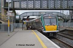 22011 passes Portarlington, 5/3/14 (hurricanemk1c) Tags: irish train rail railway trains railways irishrail rok rotem 2014 portarlington icr iarnród 22000 22011 éireann iarnródéireann 4pce 1600heustoncork
