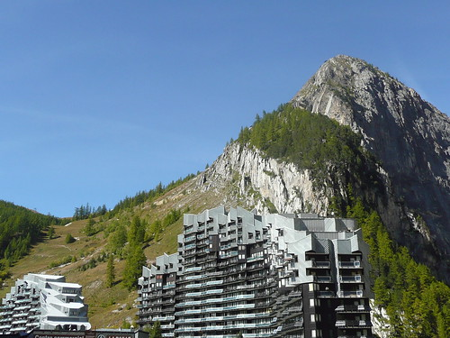 Val d'Isère, immeuble la Daille © D. Dereani, Fondation Facim, 2008 (3)
