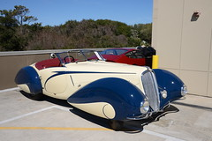 1937 Delahaye 135 Competition Court Torpedo Roadster by Figoni et Falaschi at Amelia Island 2014 (gswetsky) Tags: classic french island european antique amelia concours delahaye ccca delegance