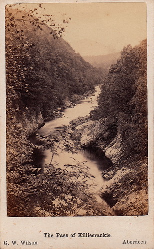 The Pass of Killiecrankie by George Washington Wilson (1860s)