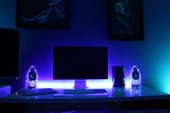 Light Colour Experiments (Apple Lover) Tags: desktop new blue windows red 2 6 3 cinema black green net apple set 30 computer cores switch fan ma