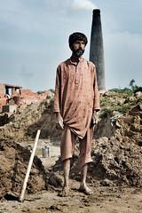 Lavoratore delle fabbriche di mattoni