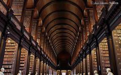 Trinity College Library Dublin (Luca Morales Guinaldo) Tags: ireland dublin library books biblioteca libros irlanda
