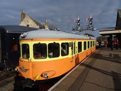 1212: Wansford (HiVizJefford) Tags: 1212 railway swedish railcar valley nene wansford