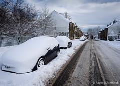 Lydgate Lane (Roger B.) Tags: winter snow unitedkingdom sheffield streetscene crookes southyorkshire
