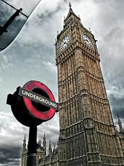 Underground (mcarroquino) Tags: london underground symbol bigben