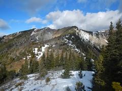 Bull Hills Loop - The northwards ascent ridge (benlarhome) Tags: winter snow canada ice trekking trek kananaskis rockies hiking path walk hike trail alberta rockymountain hiker longview bullhills highway546