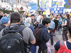 March for Real Climate Leadership, Oakland CA 2015 (xaviergardens) Tags: california water fire oakland march solar energy publictransit power wind explosion protest diversity police richmond demonstration health drought oil environment chevron refinery civildisobedience climatechange arrest laborunion globalwarming oilspill greenenergy refineries risingwaters fossilfuels bigoil fracking hydrofracturing keystonexlpipeline