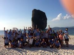 Treasure Islands | Biomerieux | Krabi 2015 (Making Teams) Tags: thailand island adventure groupshot krabi teambuilding 2015 treasureislands biomerieux biomerieuxkrabi2015 krabitreasureislands