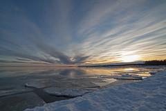 Byske Havsbad by winter (Byskan) Tags: winter sea river coast vinter december sweden baltic resort sverige hav kust havsbad byske byskelven bottenhavet byskanse byskan