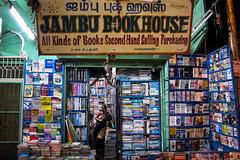 Puducherry (chamorojas) Tags: india night bookstore pondicherry g12 puducherry albertorojas chamorojas