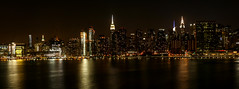 Midtown Manhattan - NYC (Pordeshia) Tags: nyc newyorkcity skyline manhattan eastriver empirestatebuilding nightview chryslerbuilding nightskyline midtownnyc