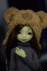 Mousse with her new eyes and wig! (Sendell_Caramdir) Tags: eyes doll dolls enchanted monique noble rglisse legit urethane asella jpopdolls