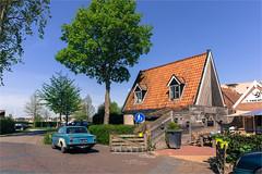 Terherne / Friesland 2016 (zilverbat.) Tags: travel holland tourism dutch car architecture canon volvo town image postcard thenetherlands visit tourist timelife friesland 2016 terherne tijgers zilverbat