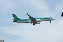 IMG_2509 (wmcgauran) Tags: boston airplane airport aircraft aviation boeing bos aerlingus 757 eastboston kbos eicjx