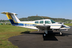 G-GBSL (GH@BHD) Tags: aircraft aviation piston beechcraft beech duchess newtownards egad newtownardsairfield beech76 beechduchess ggbsl