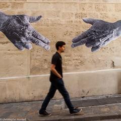 Guns Hands (christophe monteil) Tags: street urban streetart france collage montpellier dmr urbanculture pokito suddefrance christophemonteil chrismonteil poquitochris pokitochris