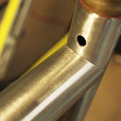 Keeping it tight! #weavercycleworks #custombicycles #steelisreal