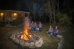 Best night with friends (merbert2012) Tags: longexposure fun fire australia queensland digitalmanipulation nikond800
