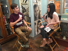 "Hayden Byerly & Haley Dodd on the set of Freeform's ""The Fosters"" for S4 #CastInterviews #TheFosters IMG_2380 (RedCarpetReport) Tags: celebrity celebrities drama interview redcarpet thefosters fosterfamily abcfamily familytvshow fosterkids lesbiancouple setvisit minglemediatv redcarpetreport season4premiere multiculturaltvshow"