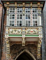 Erker am Rathaus Lbeck (S_Artur_M) Tags: city travel germany deutschland norden lbeck hansestadt schleswigholsteiein