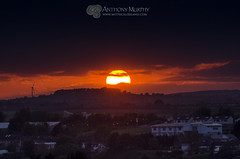 Sunset from Millmount 14th May 2016 (mythicalireland) Tags: sunset windturbine aldi drogheda collon settingsun millmount mell boynevalley tullyallen starinagh