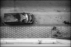 Outside my window (Christopher Anderzon) Tags: street city summer car view sweden stockholm neighborhood sidewalk sverige peugeot bondegatan