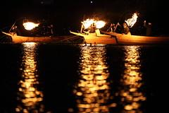 Fire on the river   ---Cormorant fishing--- (Teruhide Tomori) Tags: japan night river fire  tradition fishingboat  gifu japon cormorantfishing   nagarariver