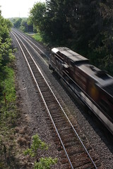 Howling (MILW157) Tags: railroad bridge train highway track pacific c sub canadian cp ge watertown nashotah