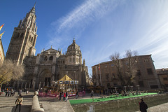 Toledo Cathedral (Juan R. Ruiz) Tags: espaa building canon spain europa europe cathedral gothic edificio catedral toledo canoneos gtico catedraldetoledo toledocathedral catedraldesantamaradetoledo canoneos60d eos60d cathedralofsaintmaryoftoledo