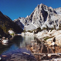 I amar prestar aen, an mathon... (szellner) Tags: california travel wild lake mountains reflection nature landscape hiking exploring wanderlust adventure lotr backpacking wilderness sierras sierranevada mothernature elvish naturelovers oudoors uploaded:by=flickstagram instatravel instagram:photo=9539573281969679891442850998
