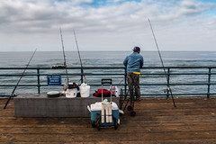 fishing in santa monica