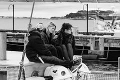 People on a Sailing Ship (Ron Scubadiver's Wild Life) Tags: street girls woman canada nova nikon sailing candid group scotia 24120