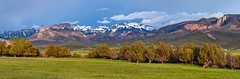 CimmaronPanoramic (Paul Gana) Tags: snow mountains nature landscape rockies spring colorado seasons view scenic panoramic rockymountains agriculture ridgway ouray canonllens canon5dmkii