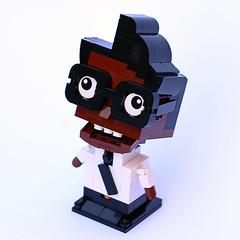 Lil Moss (Frost Bricks) Tags: lego moss it crowd
