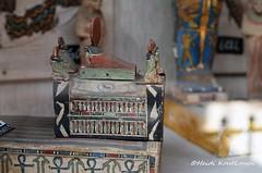Falcon and Ba birds (konde) Tags: bird statue ancient figure ba ancientegypt cairomuseum ptahsokarosiris