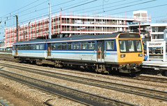 142072 (R~P~M) Tags: uk greatbritain england train unitedkingdom yorkshire railway 142 pacer doncaster dmu northernspirit multipleunit