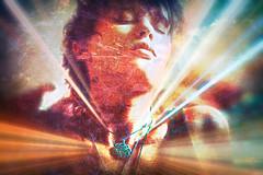 My Fallen Angel (JangoFeldman) Tags: angel photomanipulation photoshop effects surrealism surreal textures deviantart androgynous layered androgyne picmonkey