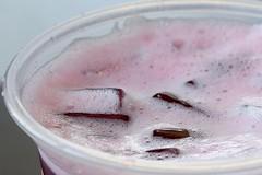 Fruit Tea (Victoria T Hunt) Tags: ice foam